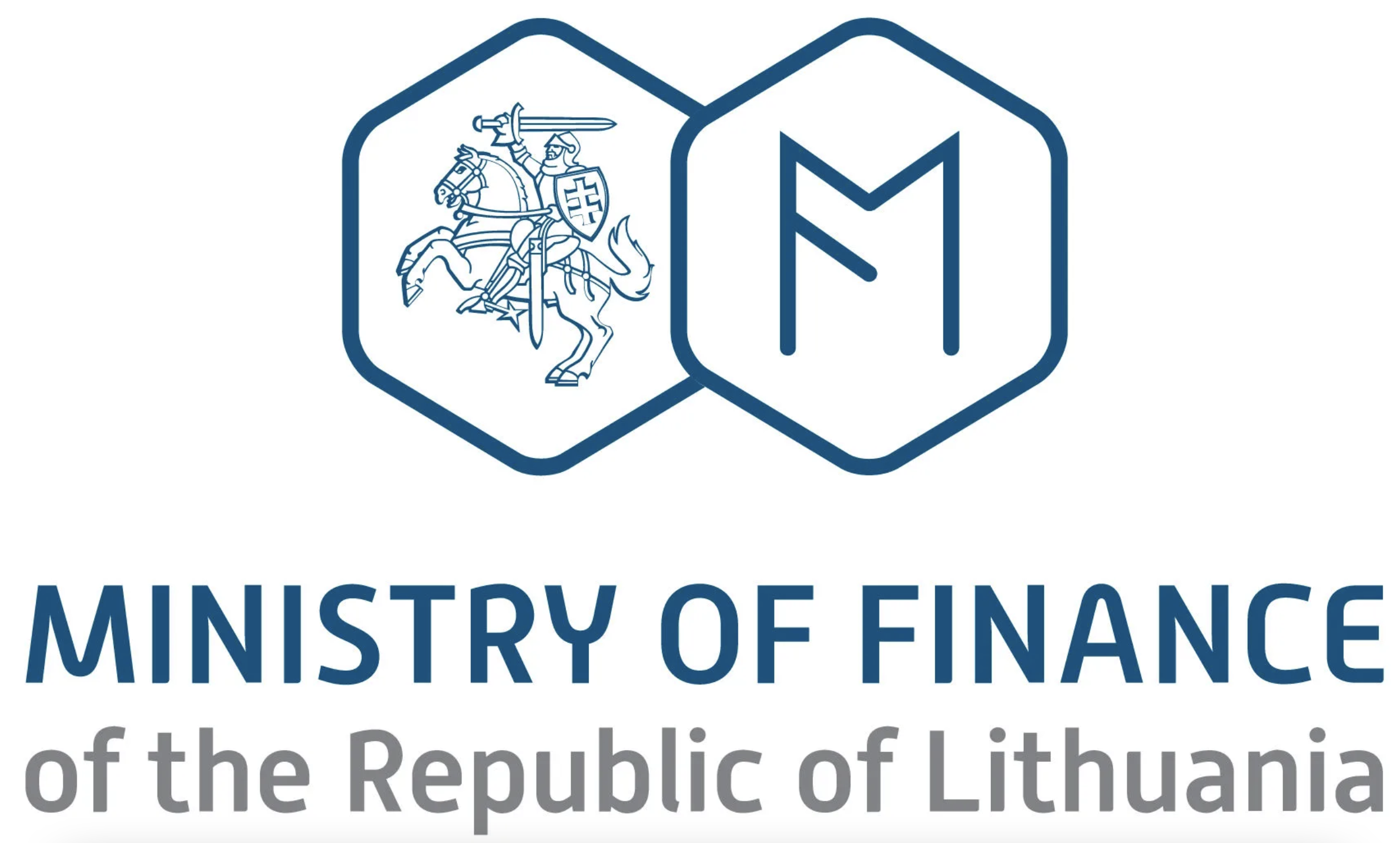 Ministry of Finance of the Republic of Lithuania logo
