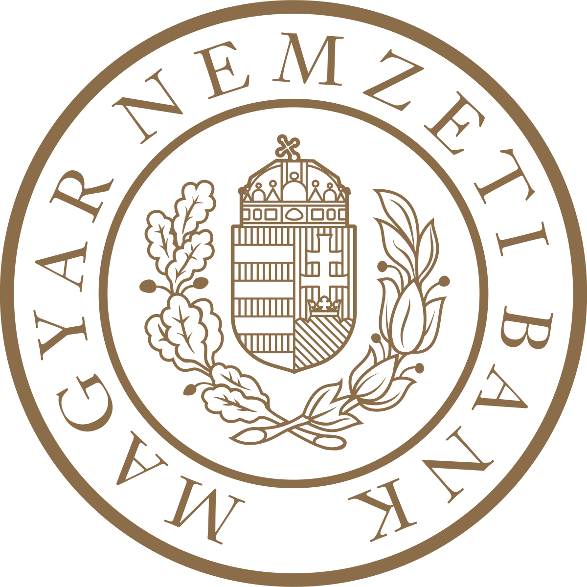 The Central Bank of Hungary logo